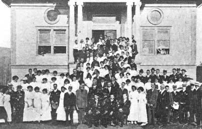Institute Hall with People